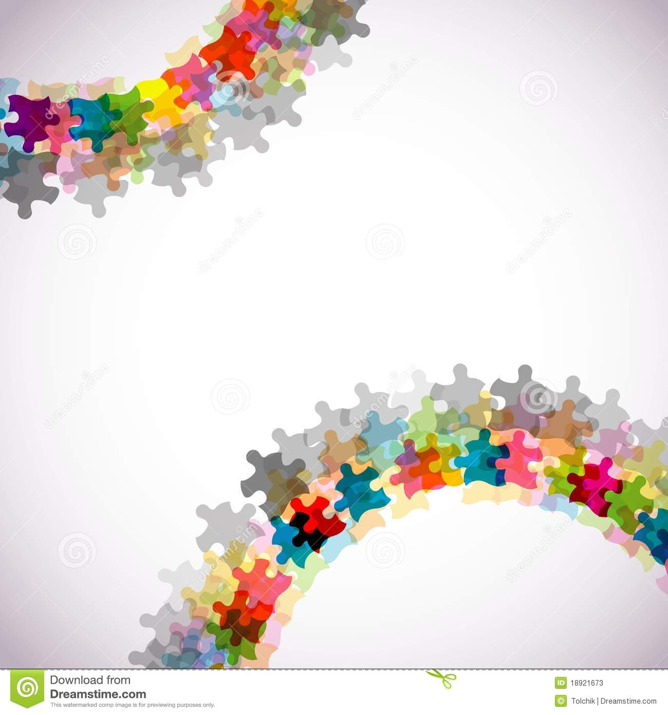 Abstract Puzzle Background Eps10 Stock Photos Image