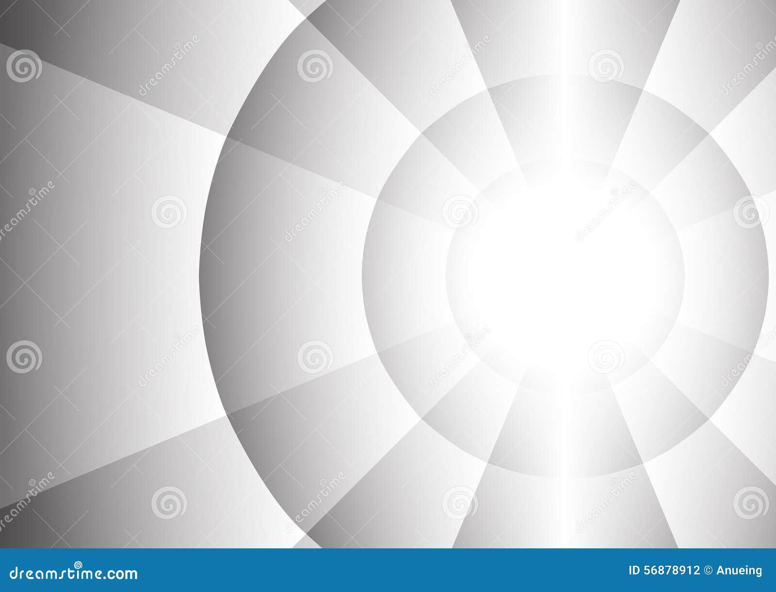 Abstract radius of circle background