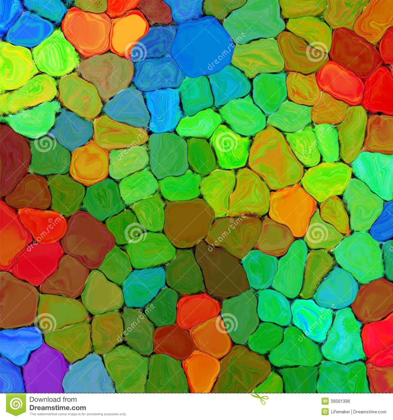 Royalty free stock photo abstract rainbow colorful tiles mozaic paint ...