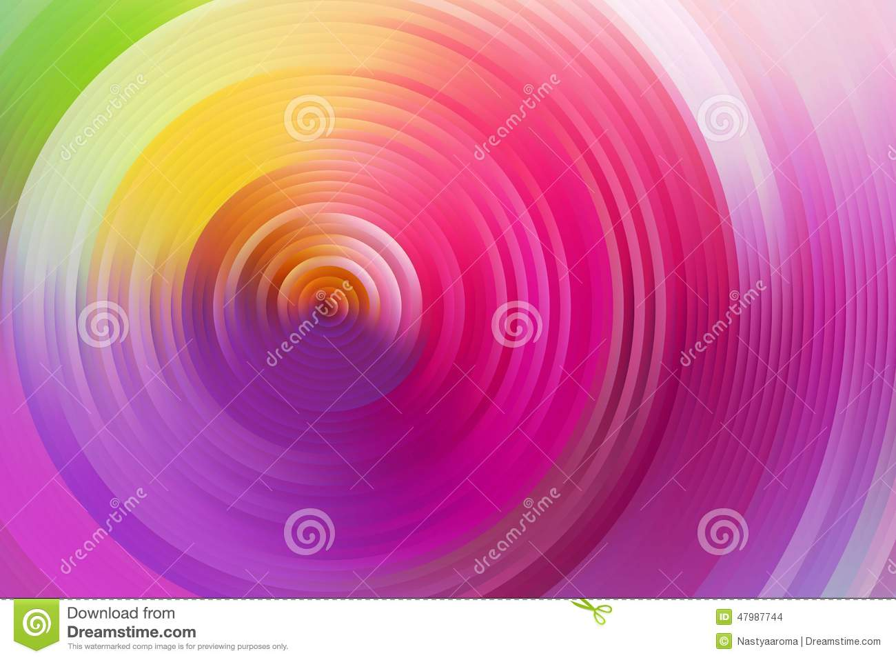 Abstract twisted colorful spiral ring - color wheel Vector Image ...