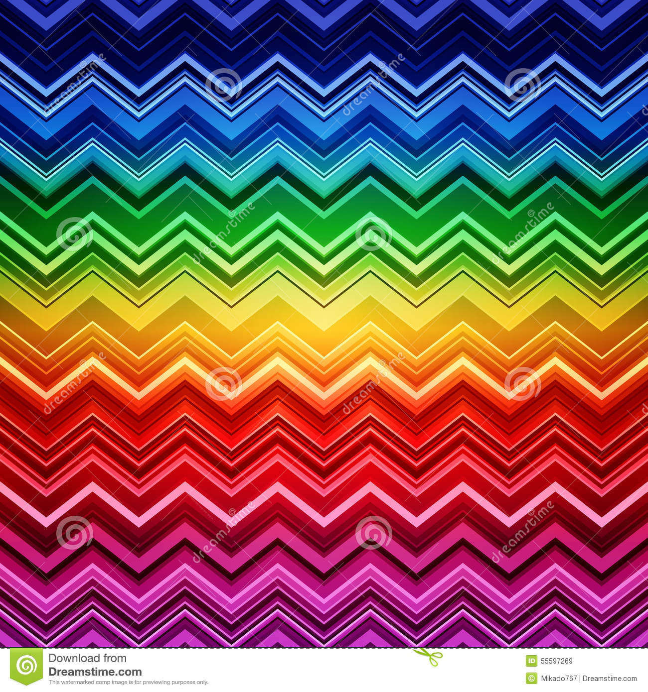 abstract rainbow zig zag warped stripes ethnic stock vector illustration of decorative funky. Black Bedroom Furniture Sets. Home Design Ideas