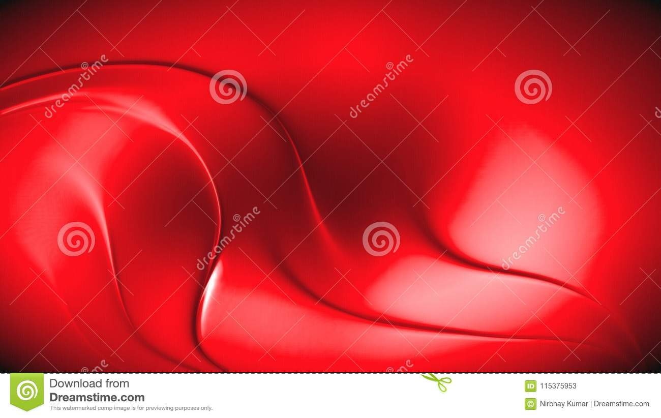 Abstract red 3d wave background