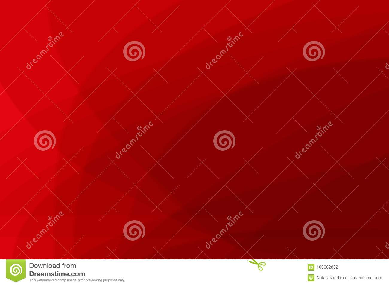 Abstract red horizontal background. Elegant design. Vector