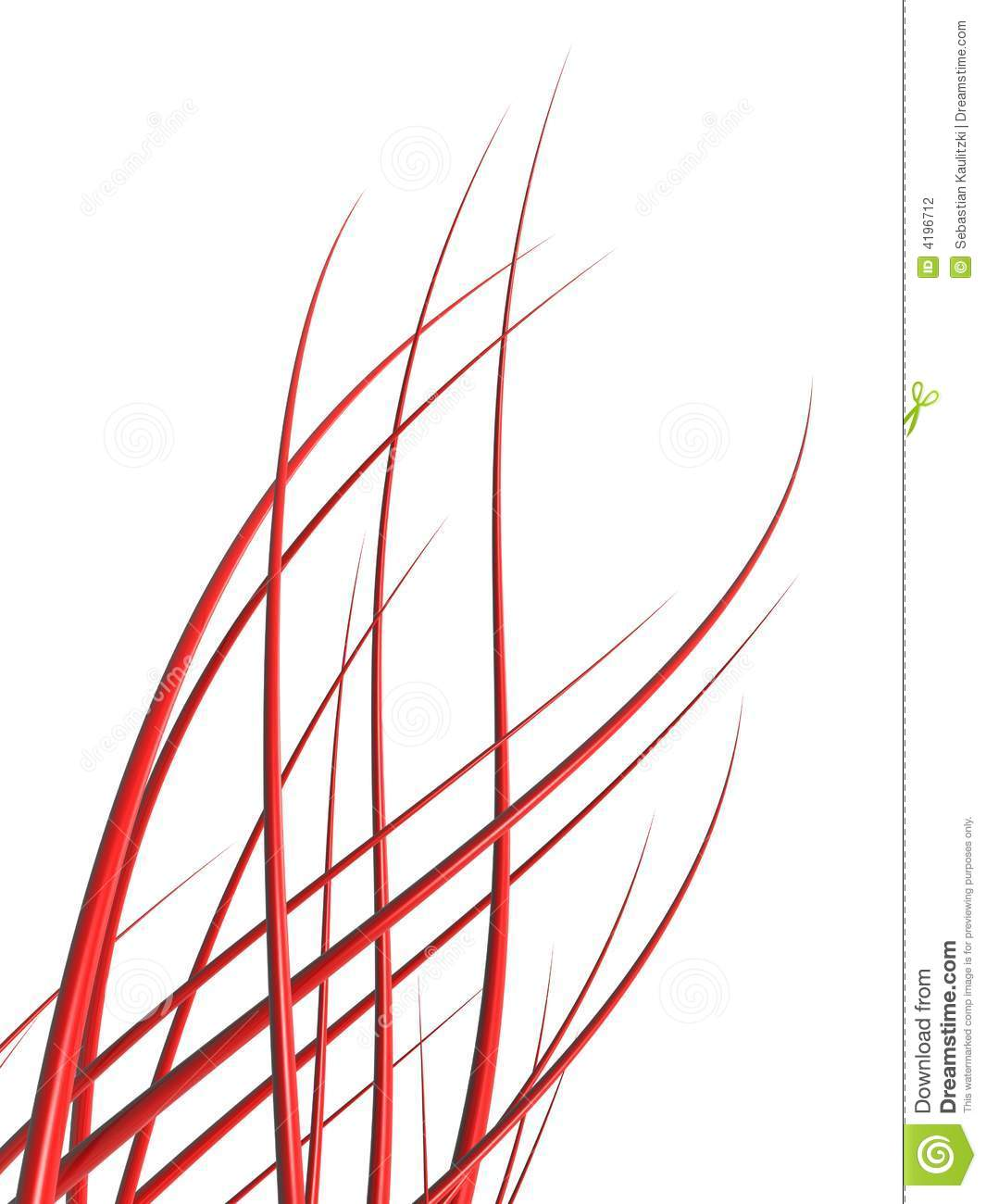Abstract Red Lines Stock Photography Image 4196712