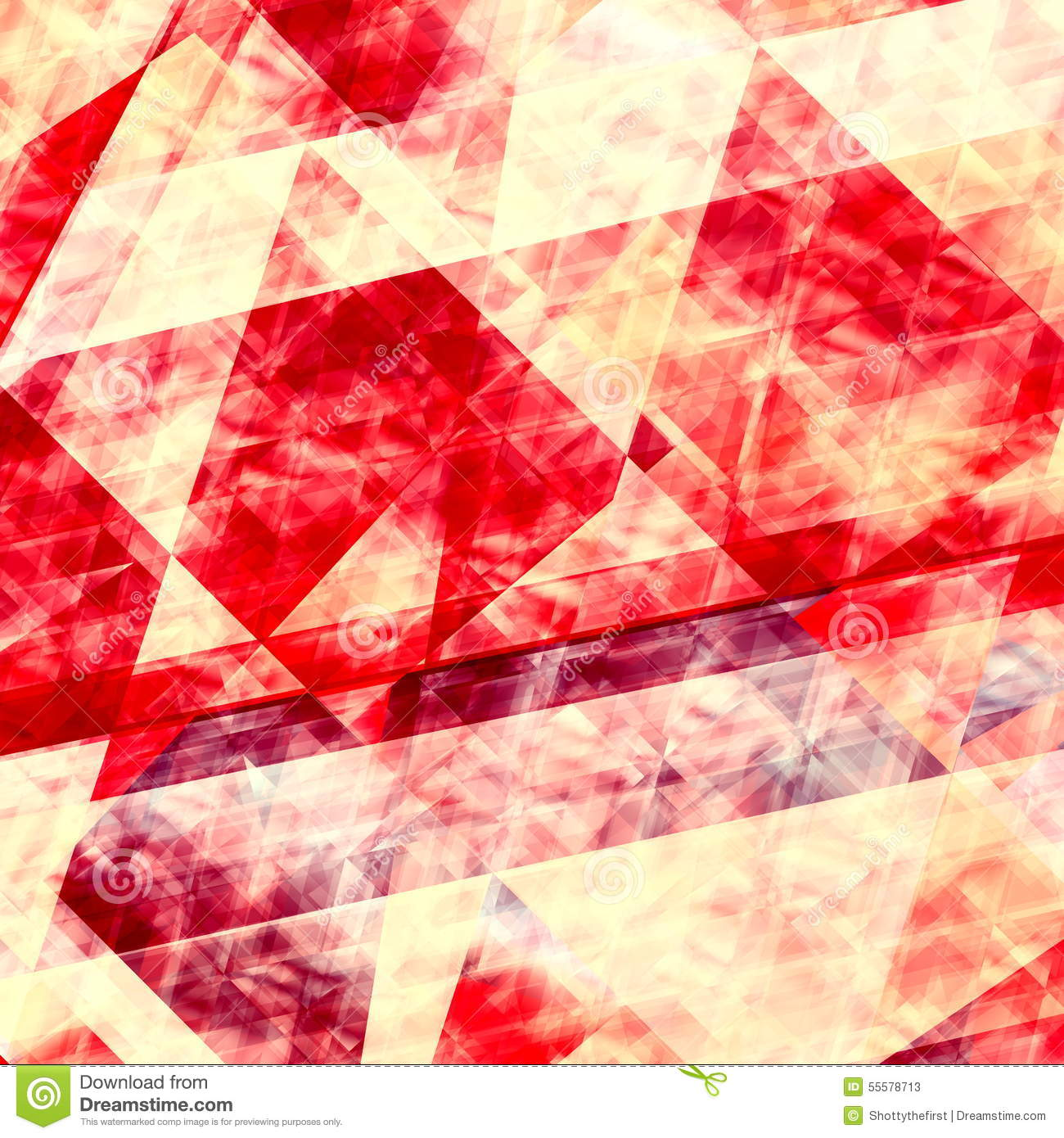 Beauty Wallpapers Paper: Abstract Red Lines Background. Geometric Element Design