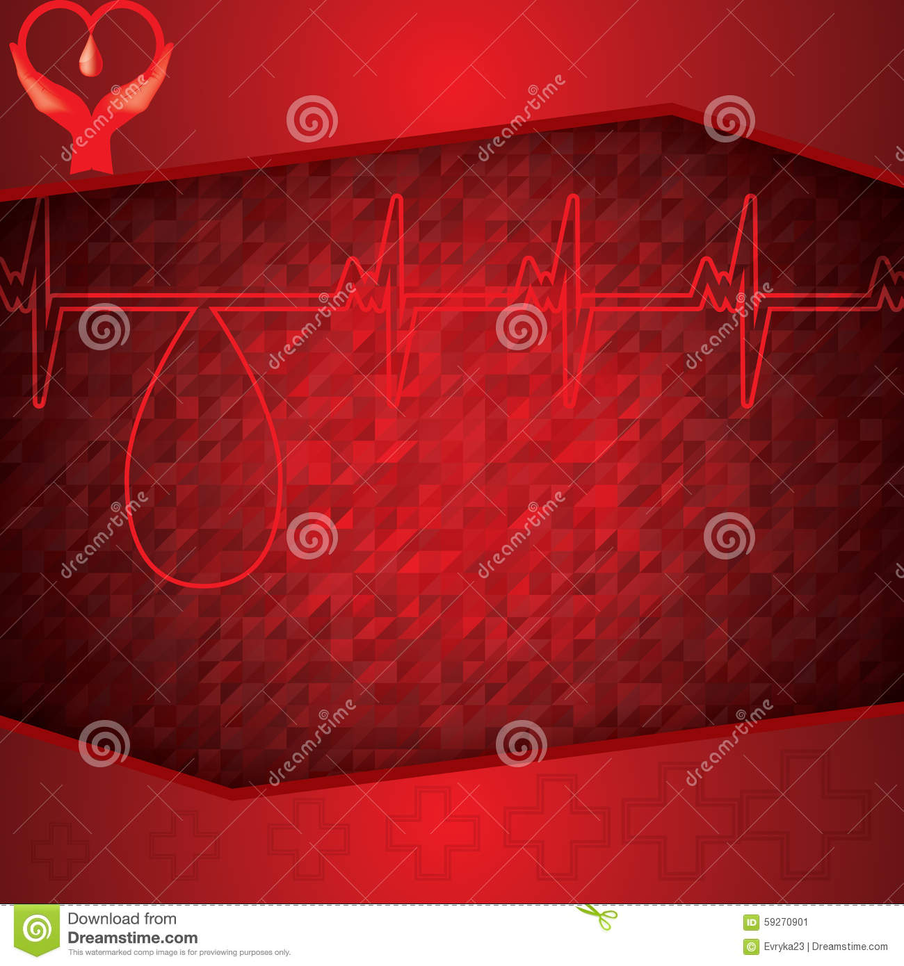 red medical background - photo #10