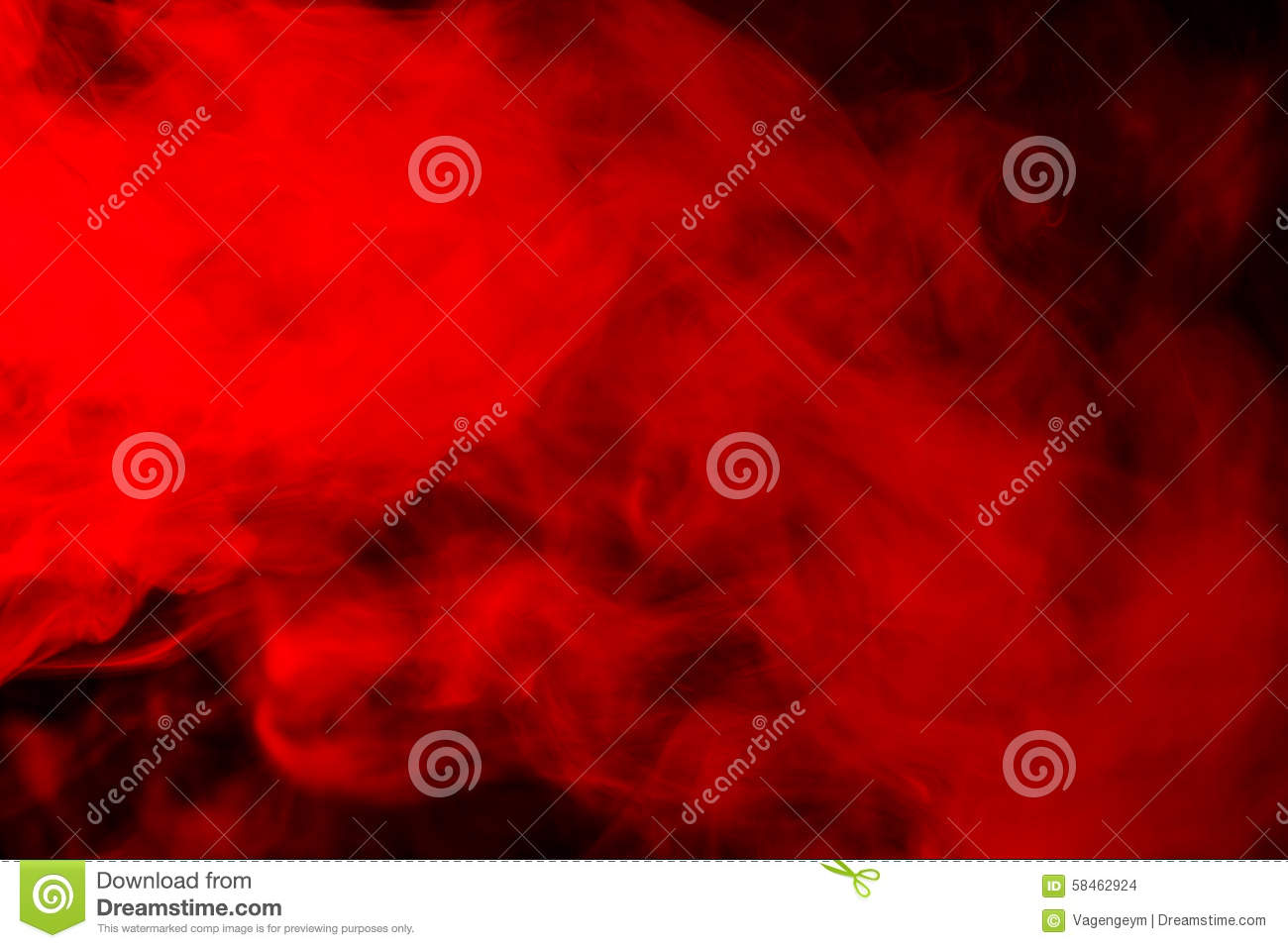 Download Abstract Red-orange Smoke Hookah On A Black Background. Stock Photo - Image of elegant, dynamic: 58462924