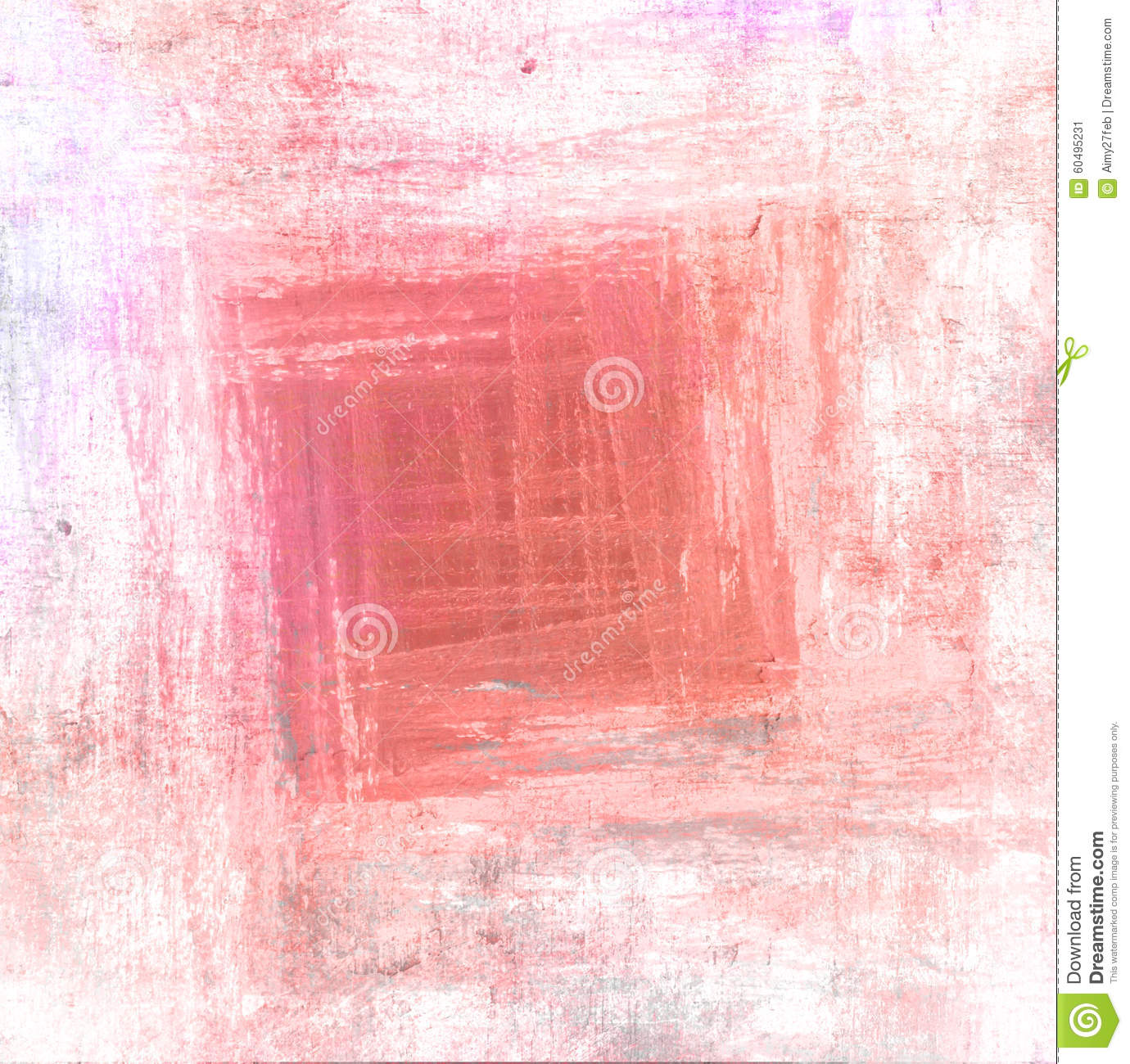 Download Abstract Red Paint Brush Background With Scratch Texture Stock Image