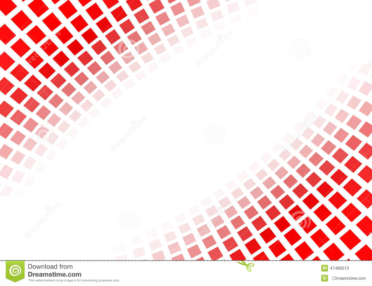 Abstract red squares stock illustration. Illustration of ...