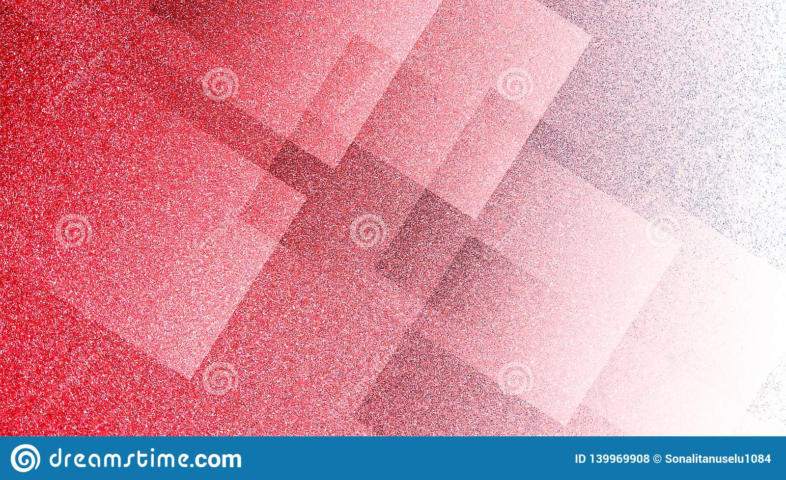 Abstract Red And White Background Shaded Striped Pattern And