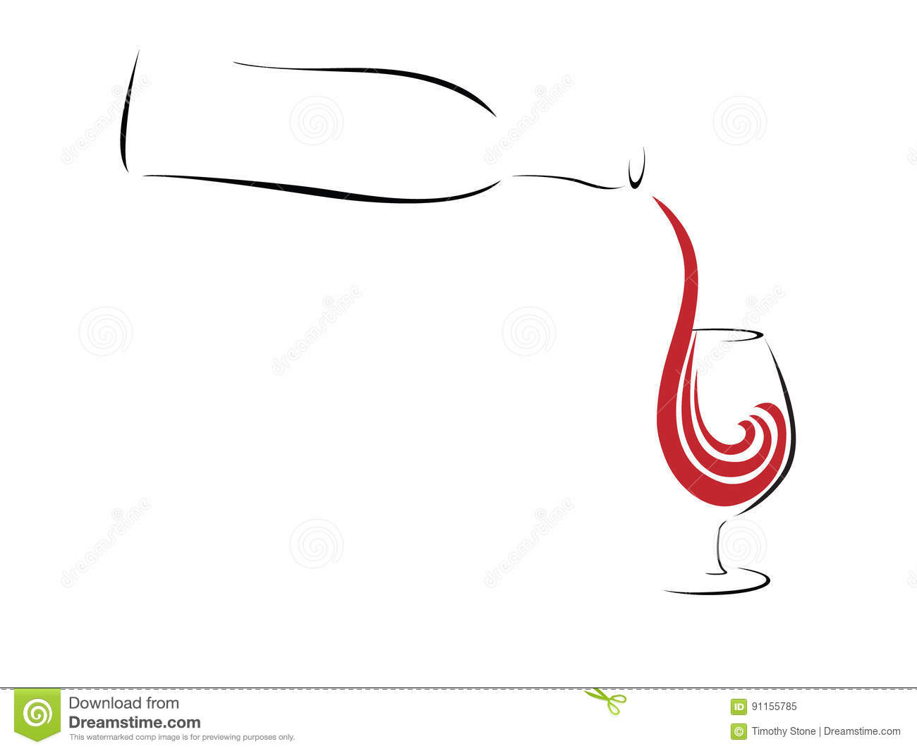 abstract red wine stock vector  image of champagne  image