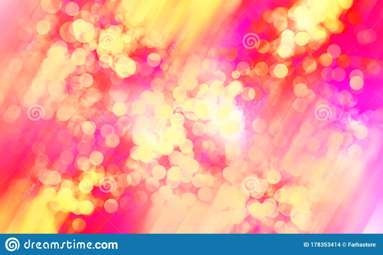 Abstract Red Yellow Mix Colors Background With Bokeh Light Stock Illustration Illustration Of Wavy Rich 178353414