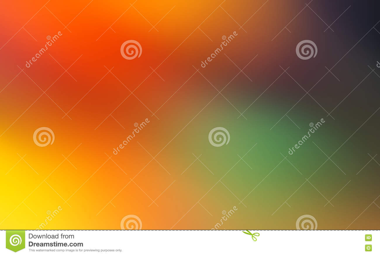 Abstract Red Yellow Purple And Blue Blur Color Gradient Background