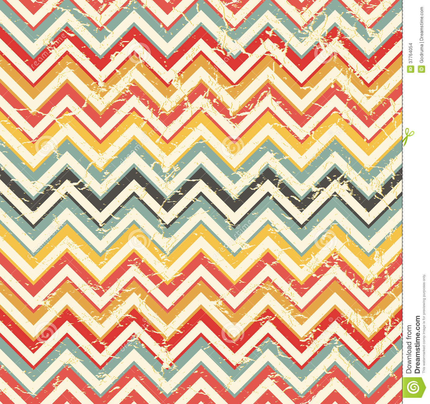 Abstract Retro Geometric Background. Stock Images - Image ...