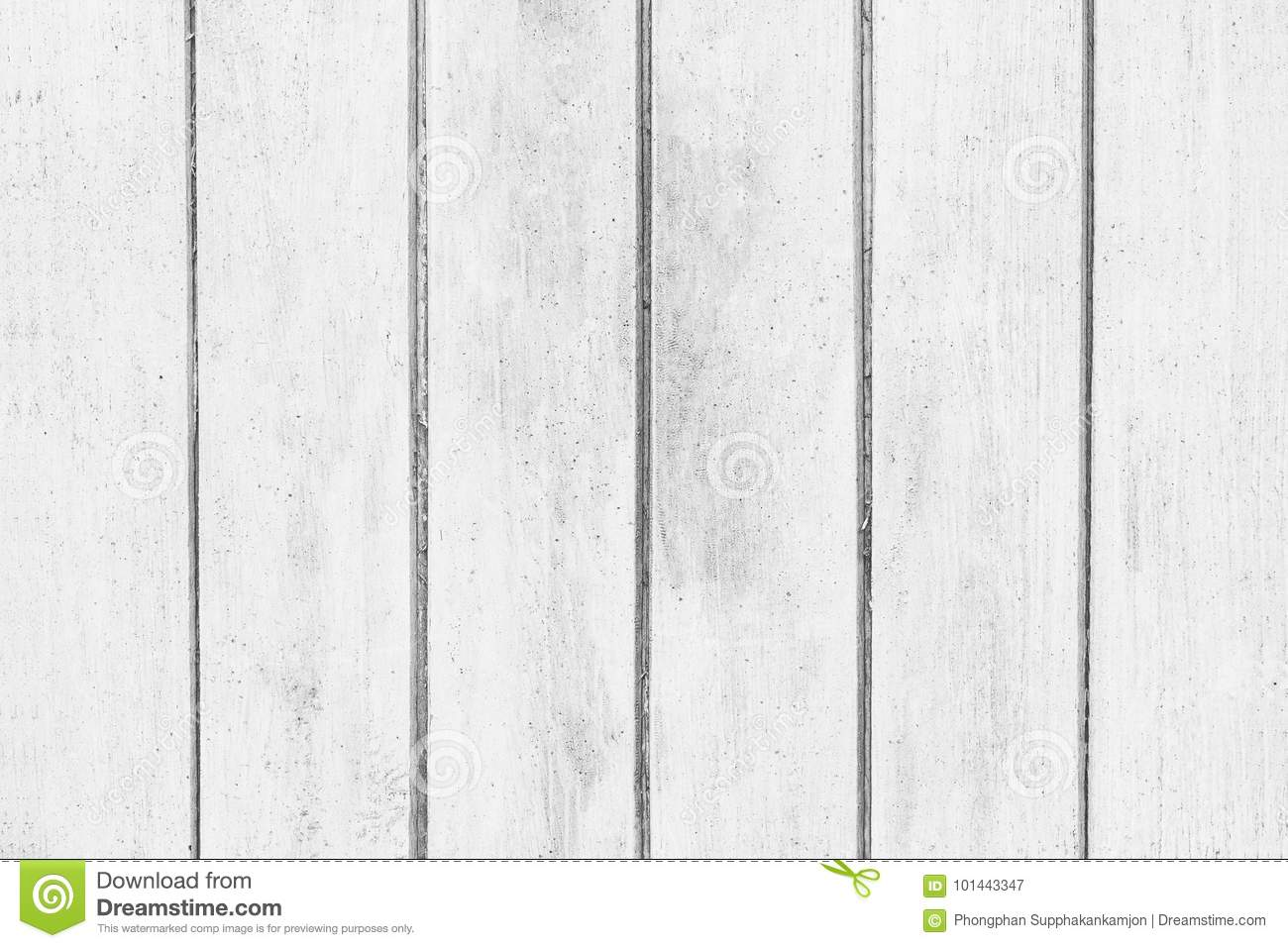 Abstract rustic surface white wood table texture background. Close up of rustic wall made of white wood table planks texture.
