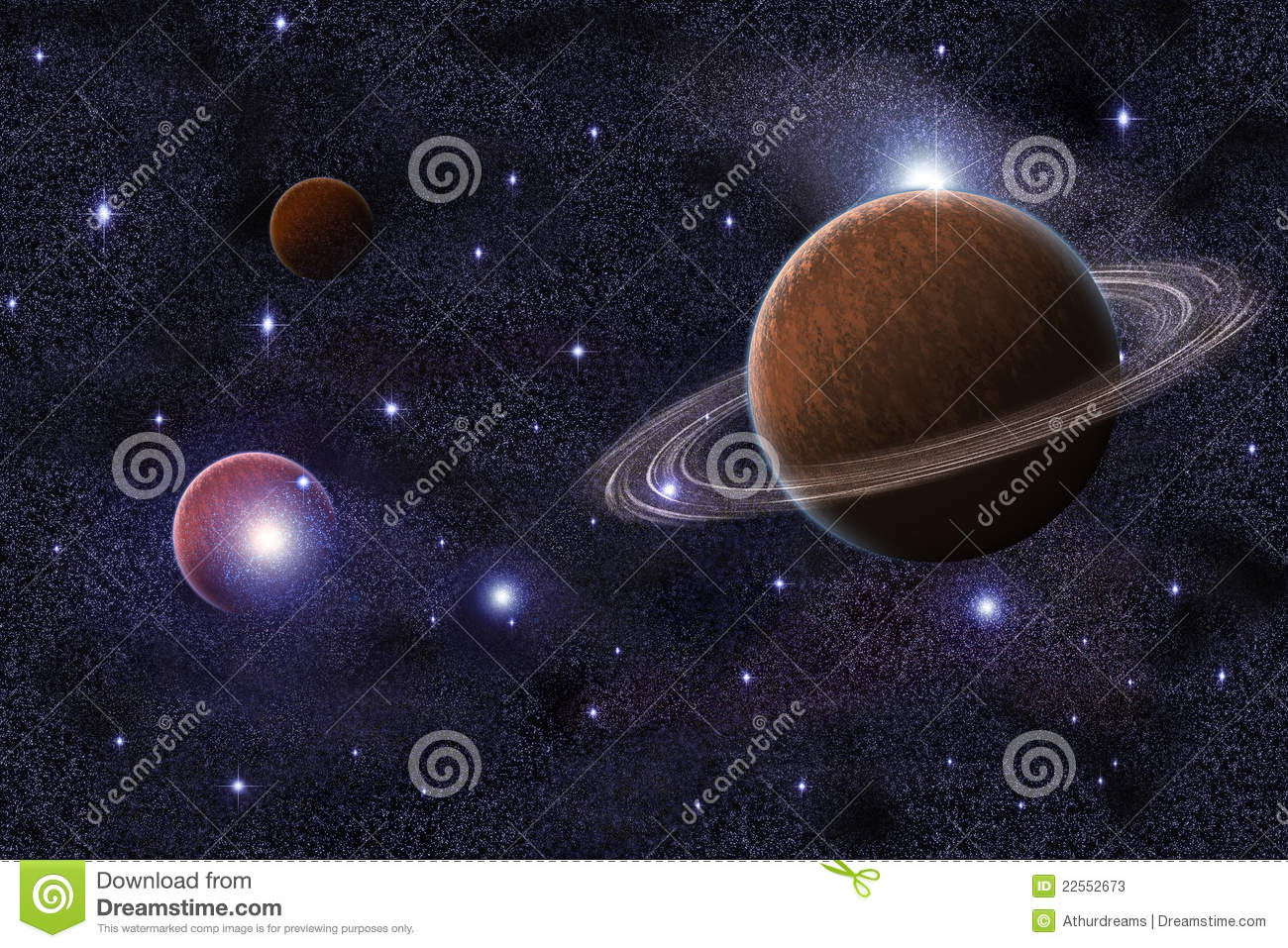 galaxies planets and saturn - photo #6