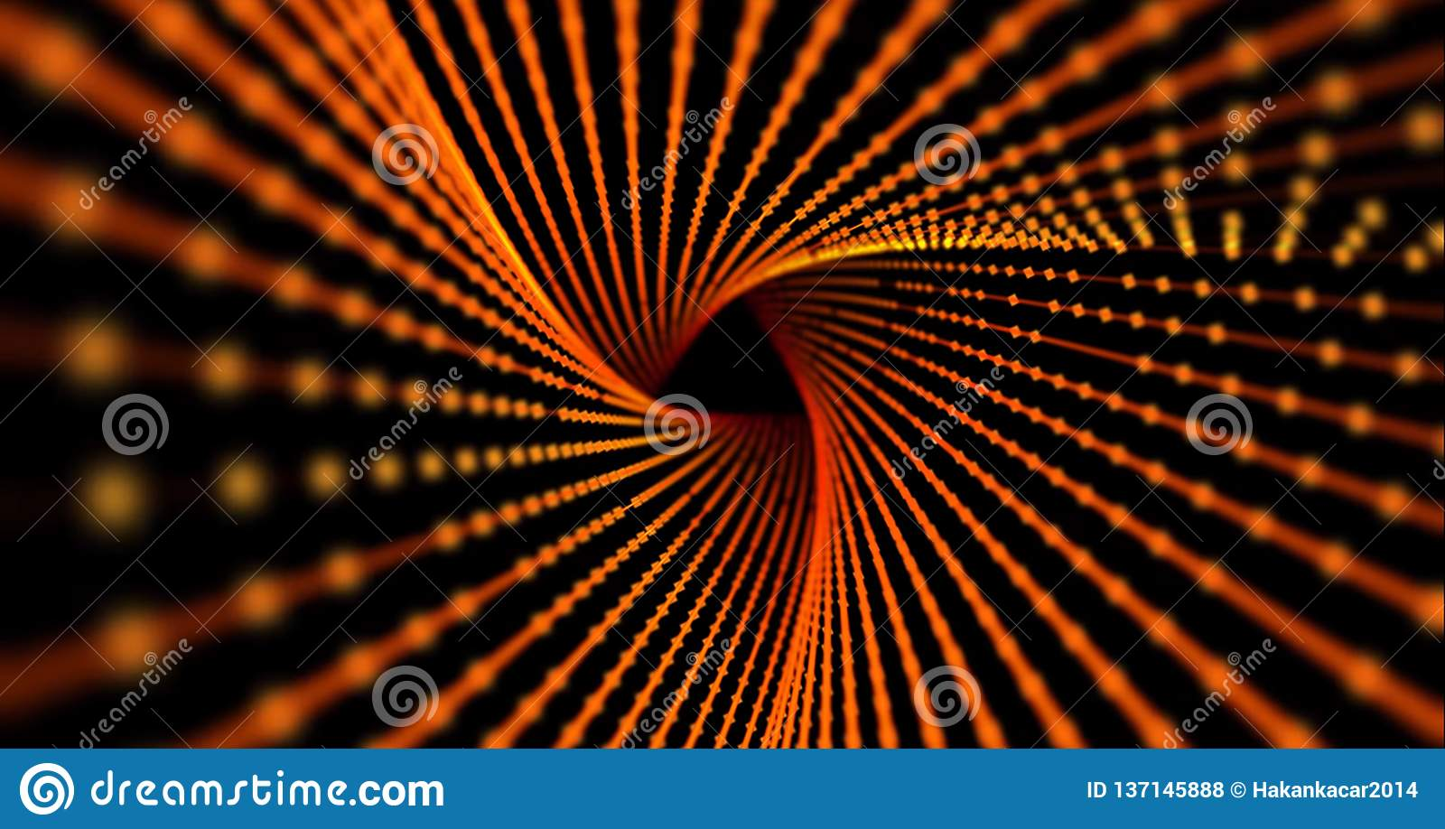 Abstract Science Or Technology Background  Array With