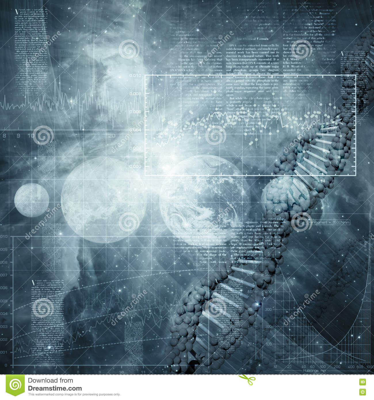 Abstract science and technology backgrounds