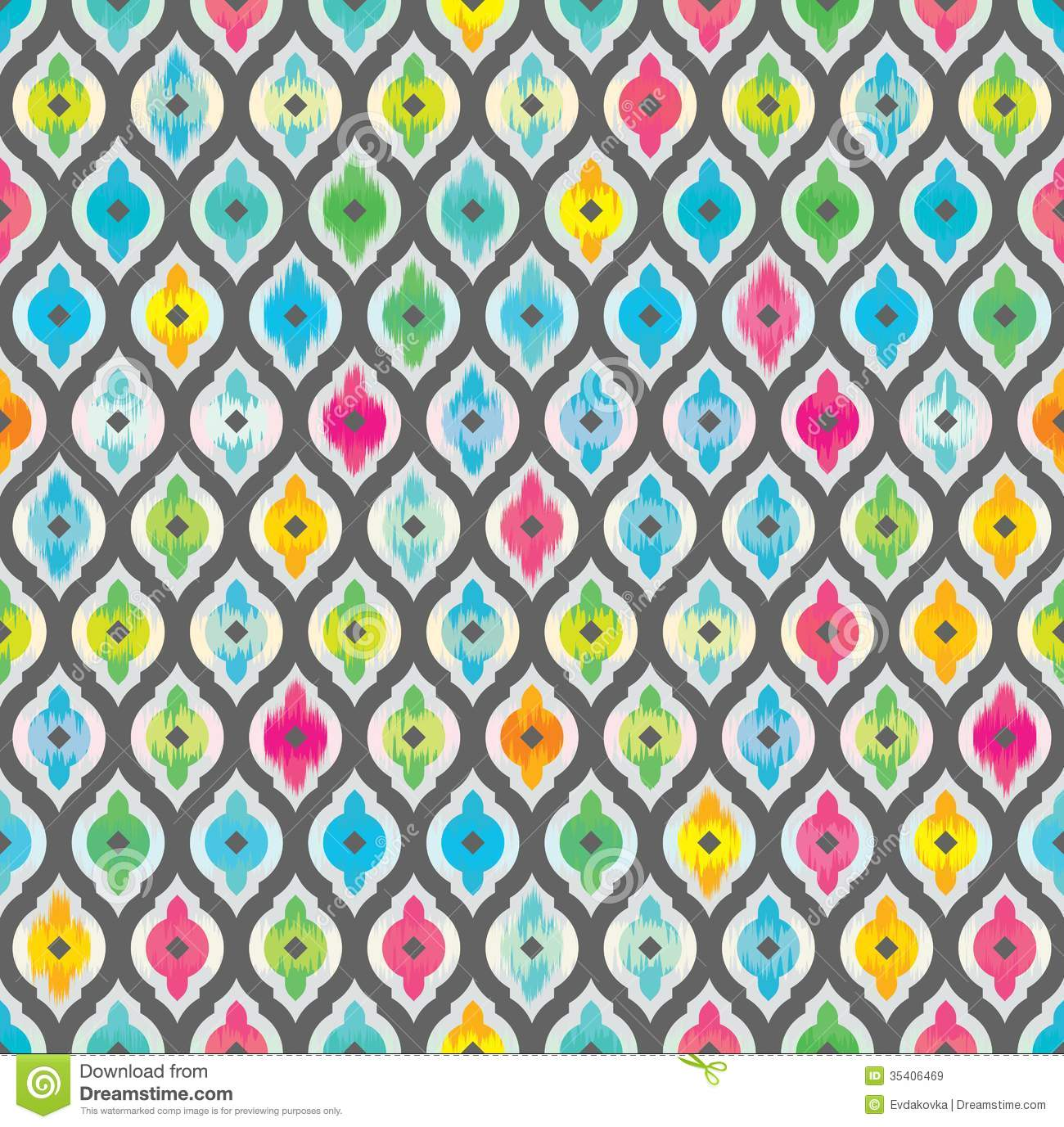 Abstract Seamless Background Fabric Pattern Royalty Free