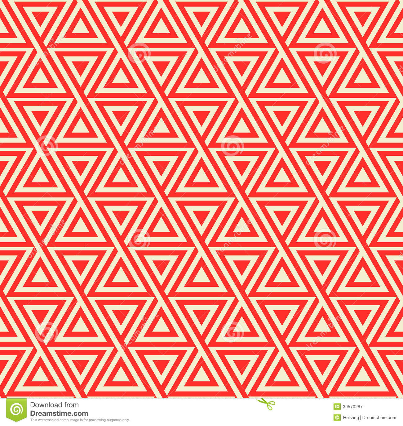 Abstract Seamless Geometric Pattern With Triangles Stock Vector Image 39570287