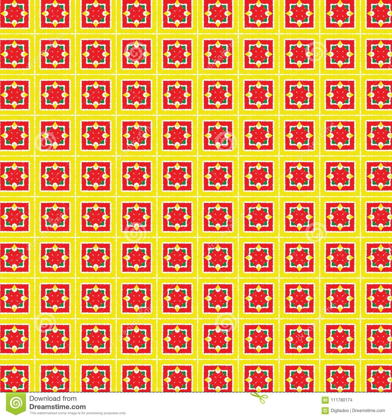 Abstract Seamless Holiday Christmas Plaid Lines Pattern Background Vector Illustration
