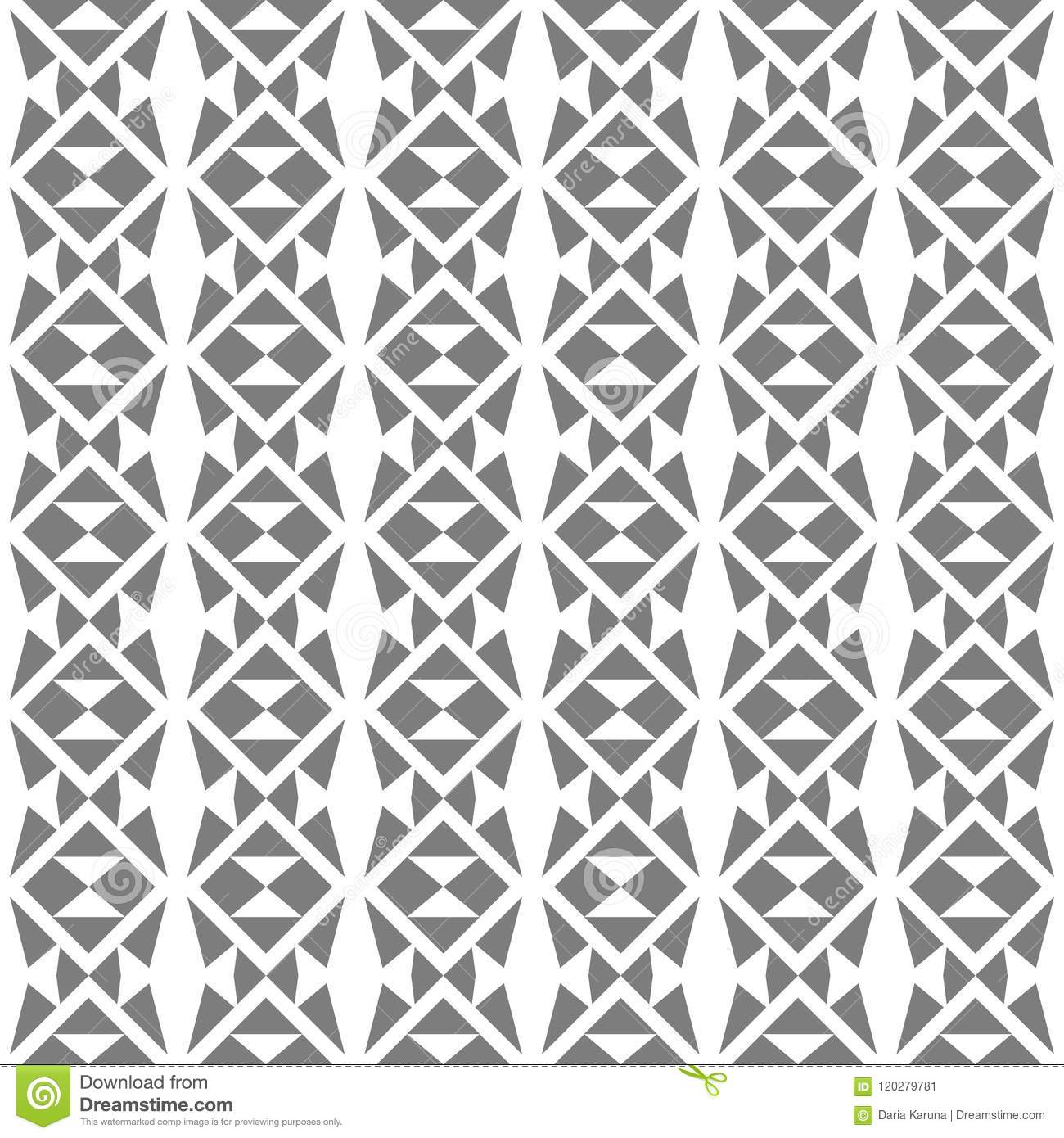 abstract seamless pattern of geometric shapes simple shapes and