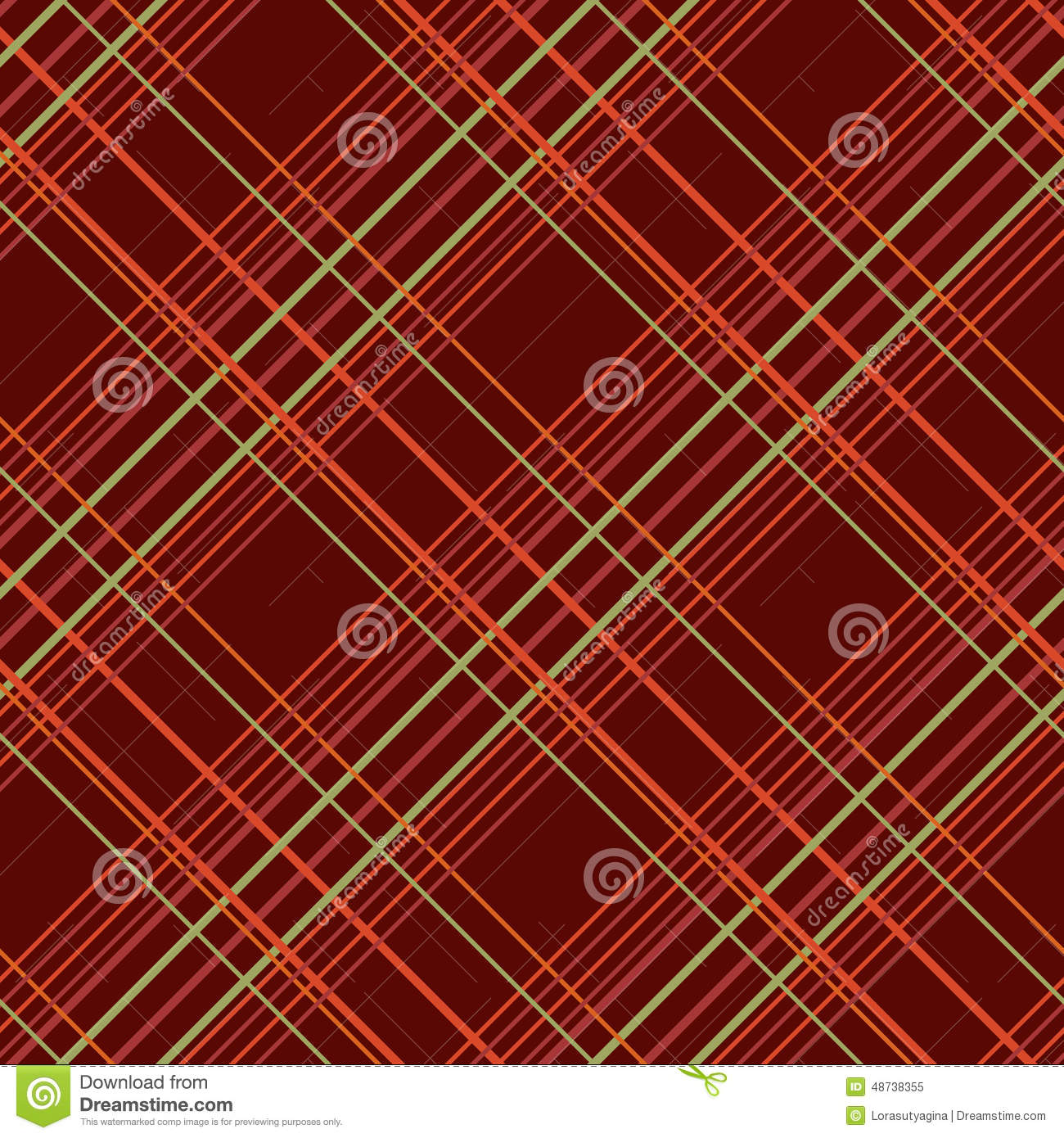 abstract seamless pattern with plaid fabric on a dark brown background stock vector image. Black Bedroom Furniture Sets. Home Design Ideas