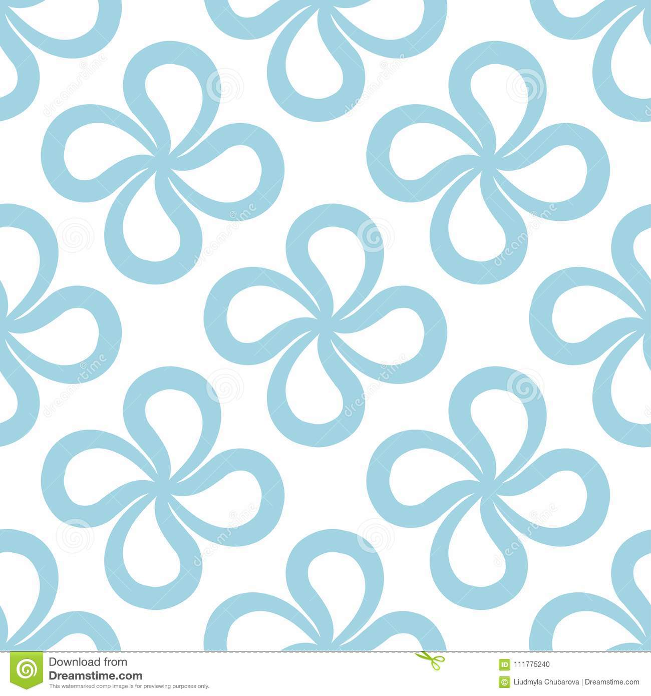 Abstract seamless pattern for textile, fabrics or wallpapers