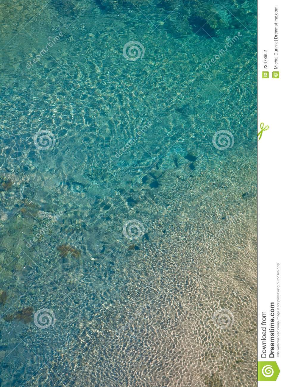 Abstract Shallow Water Pond Texture Stock Photography ...