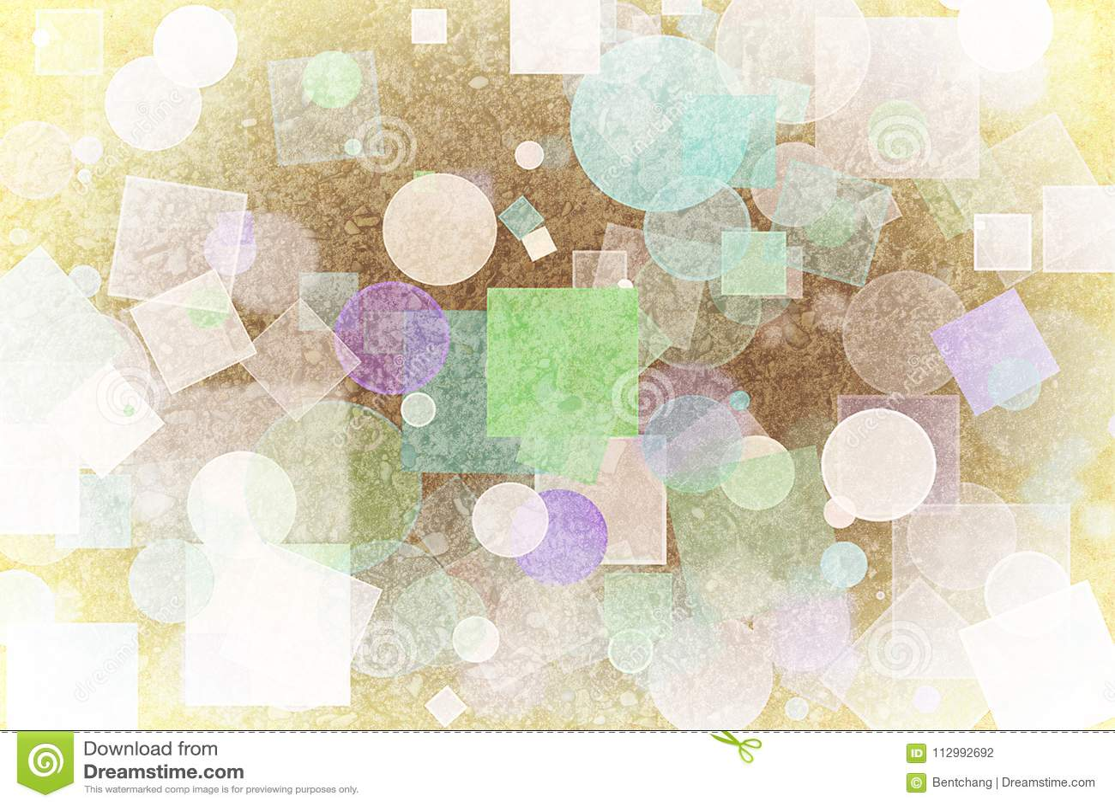 Abstract shape generative design art background. Pattern, backdrop, rectangle, digital & fashion.