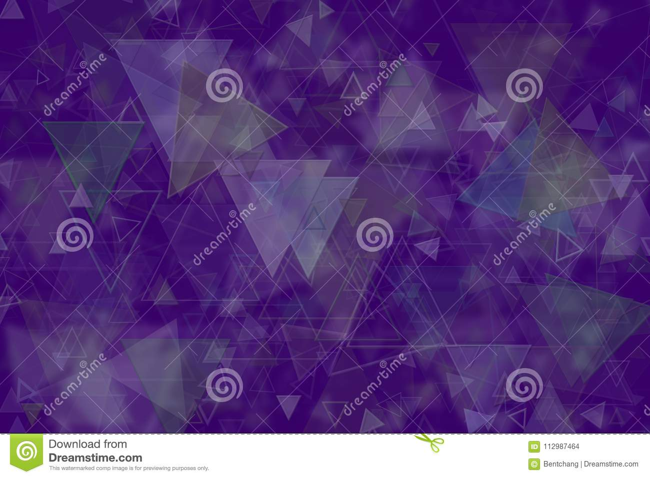 Abstract shape, for web page, wallpaper or graphic design. Pattern, triangle, bubble, effect & painting.