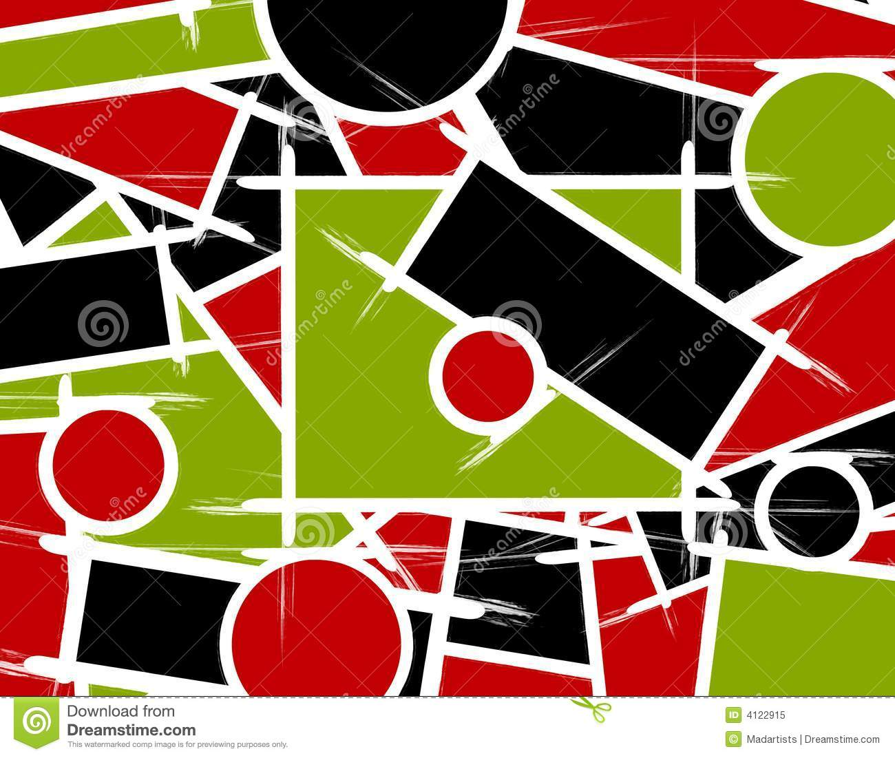 Lines And Shapes : Abstract shapes lines background royalty free stock photo
