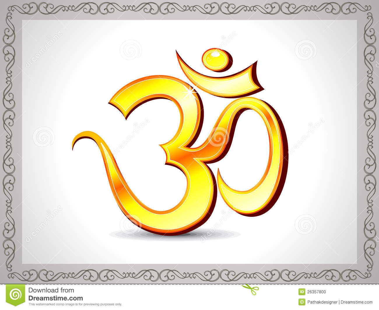 Abstract shiny golden om wallpaper stock photo image Om symbol images download