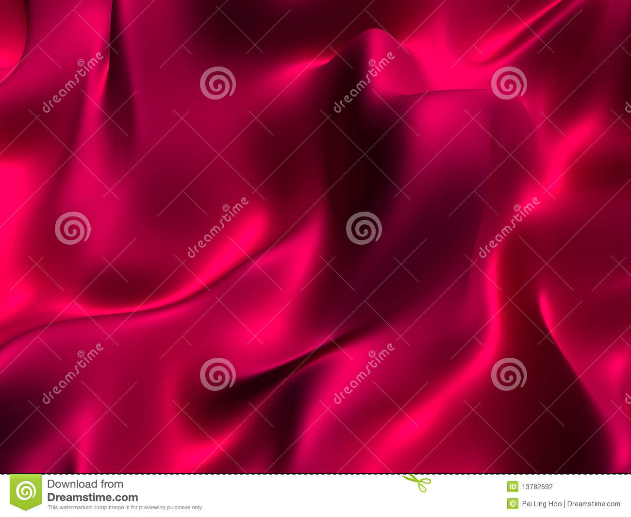Abstract silk fabric background