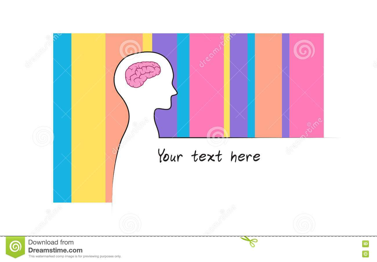 Abstract sillhouette of person with rainbow colour background abstract sillhouette of person with rainbow colour background intelligence brain symbol white version biocorpaavc Images