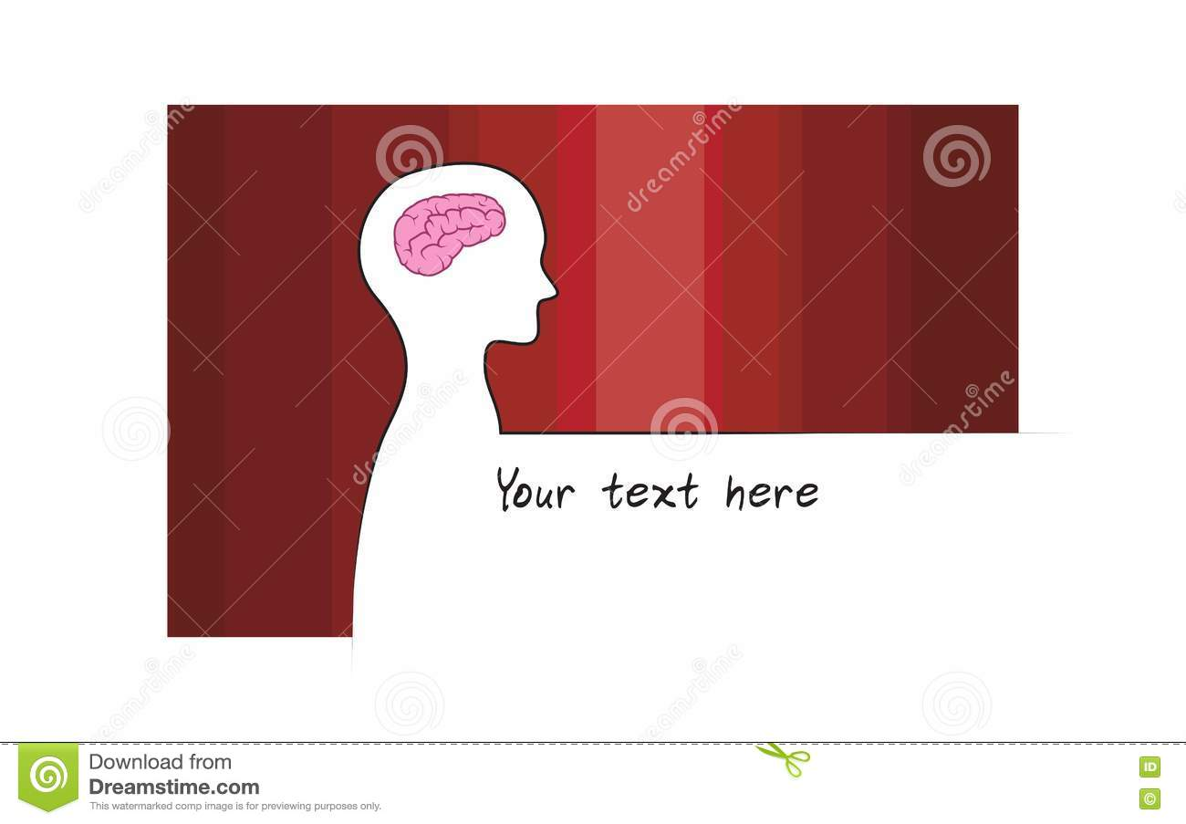 Abstract sillhouette of person with red colour background abstract sillhouette of person with red colour background intelligence brain symbol white version biocorpaavc Images