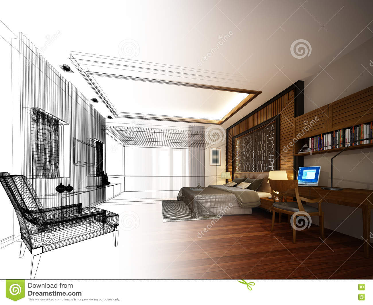Abstract Sketch Design Of Interior Bedroom Stock Illustration ... on house studio design, house art design, house painting design, house model design, house design blueprint, house autocad, sketchup house design, house template, product page design, house plans with furniture layouts, house green design, house layout design, house graphic design, green building design, house drawing, house study design, house construction, house perspective design, house light design, house architecture design,