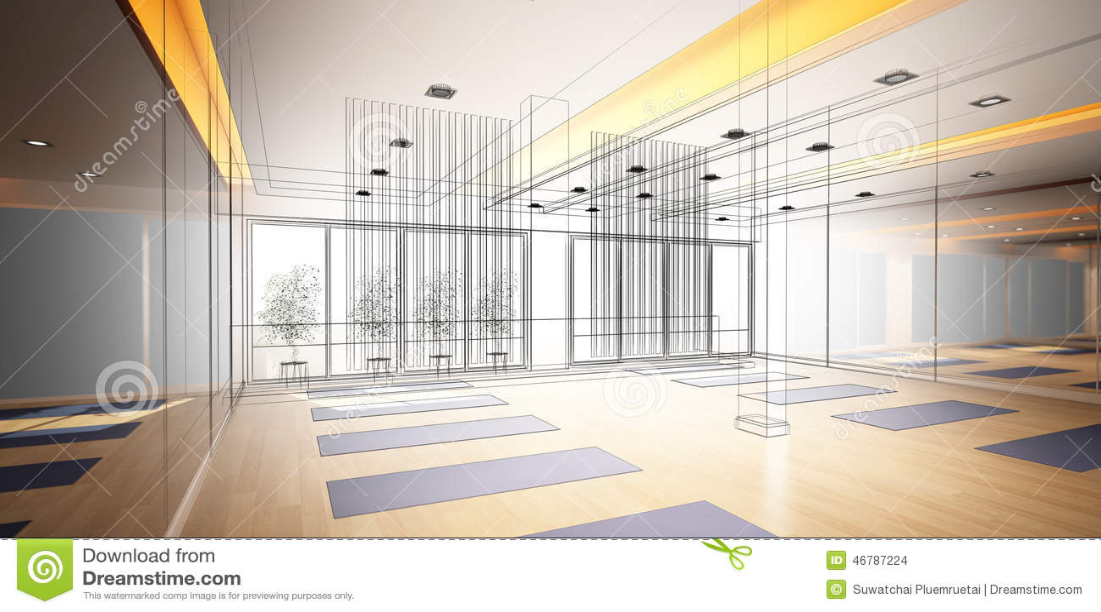 Yoga Pose Light For Room