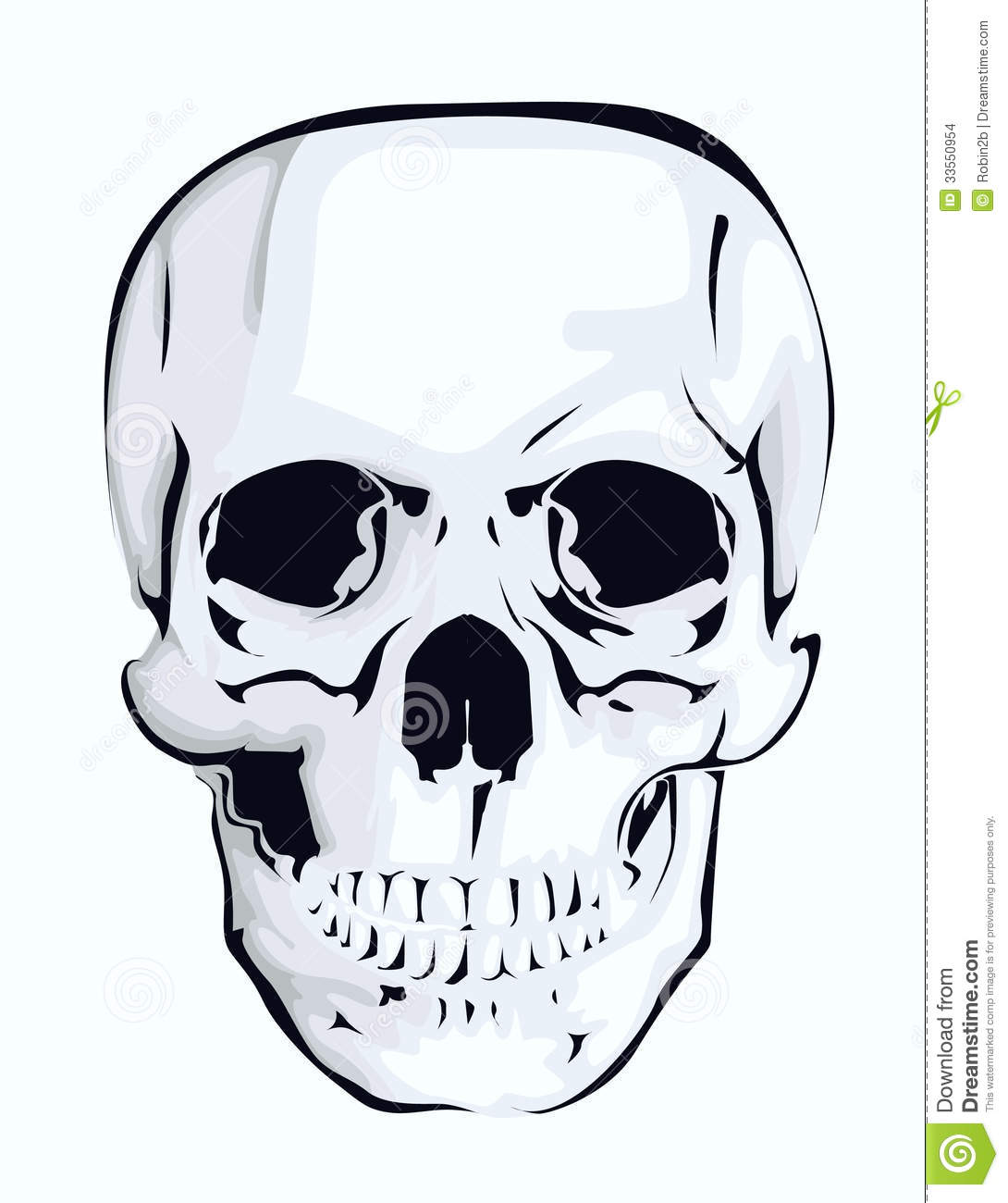 Abstract Skull Stock Images - Image: 33550954
