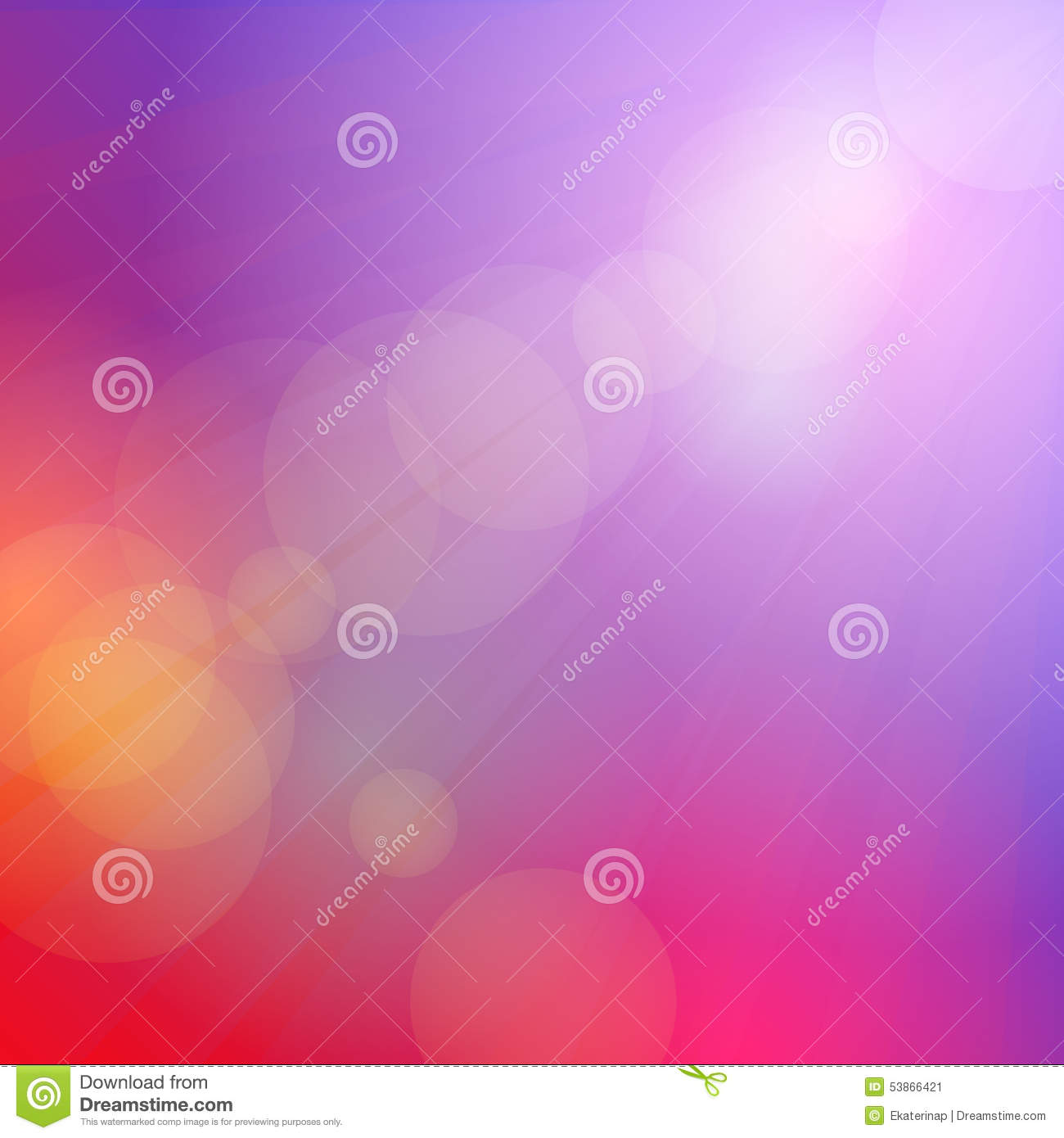 Abstract sky pink background, sunset, dawn, soft colored. Vector