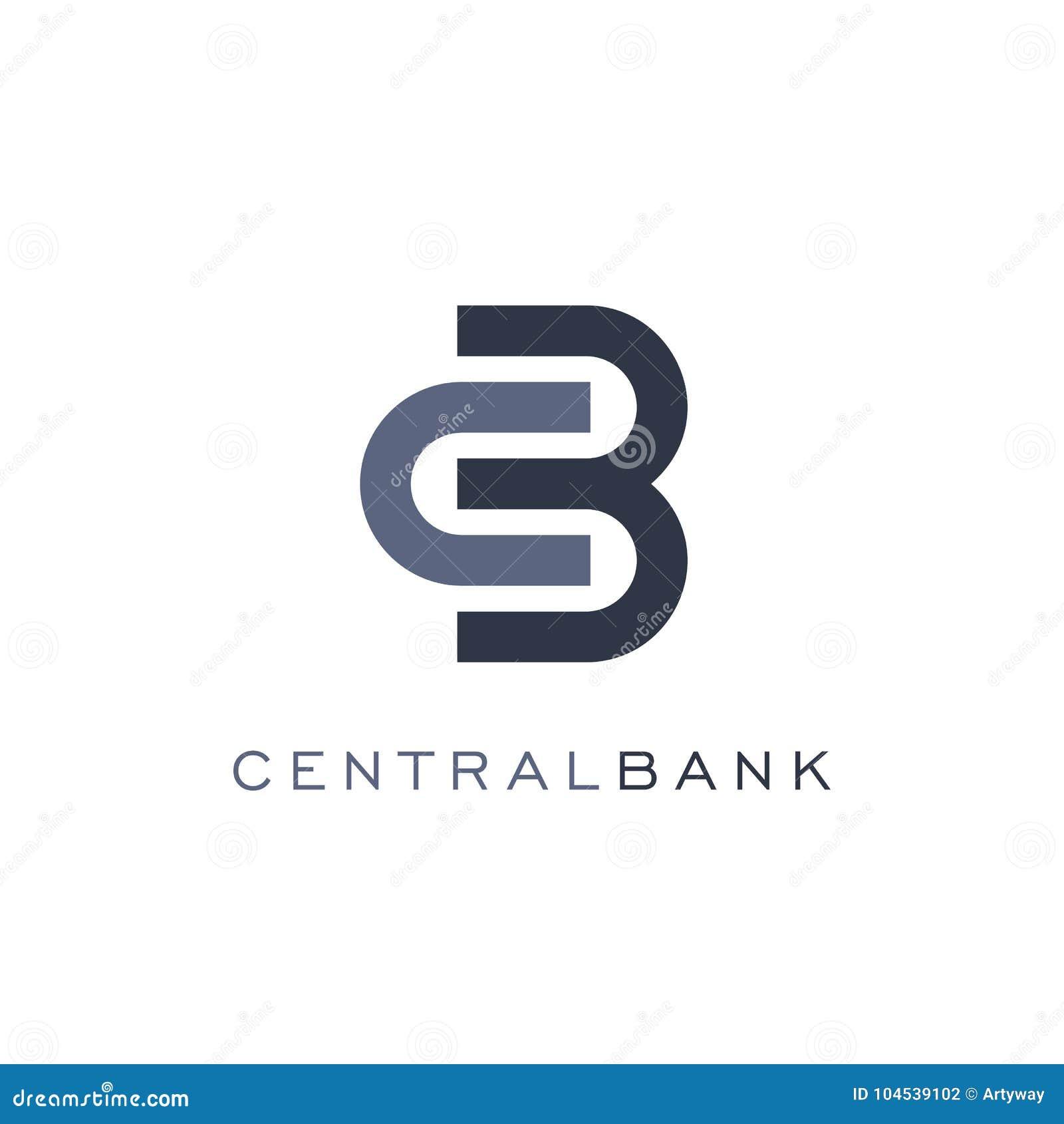 Abstract slotpictogram, lineaire stijl, malplaatje van het bank het vectorembleem Van muntuitwisseling en financiën verrichtingen