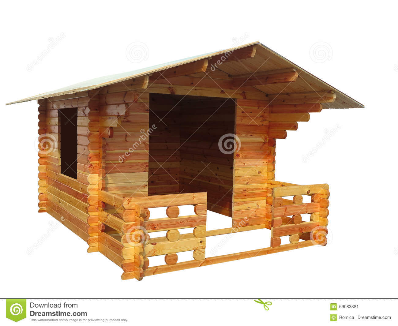 Symbolic wooden house royalty free stock photo for Mini wooden house
