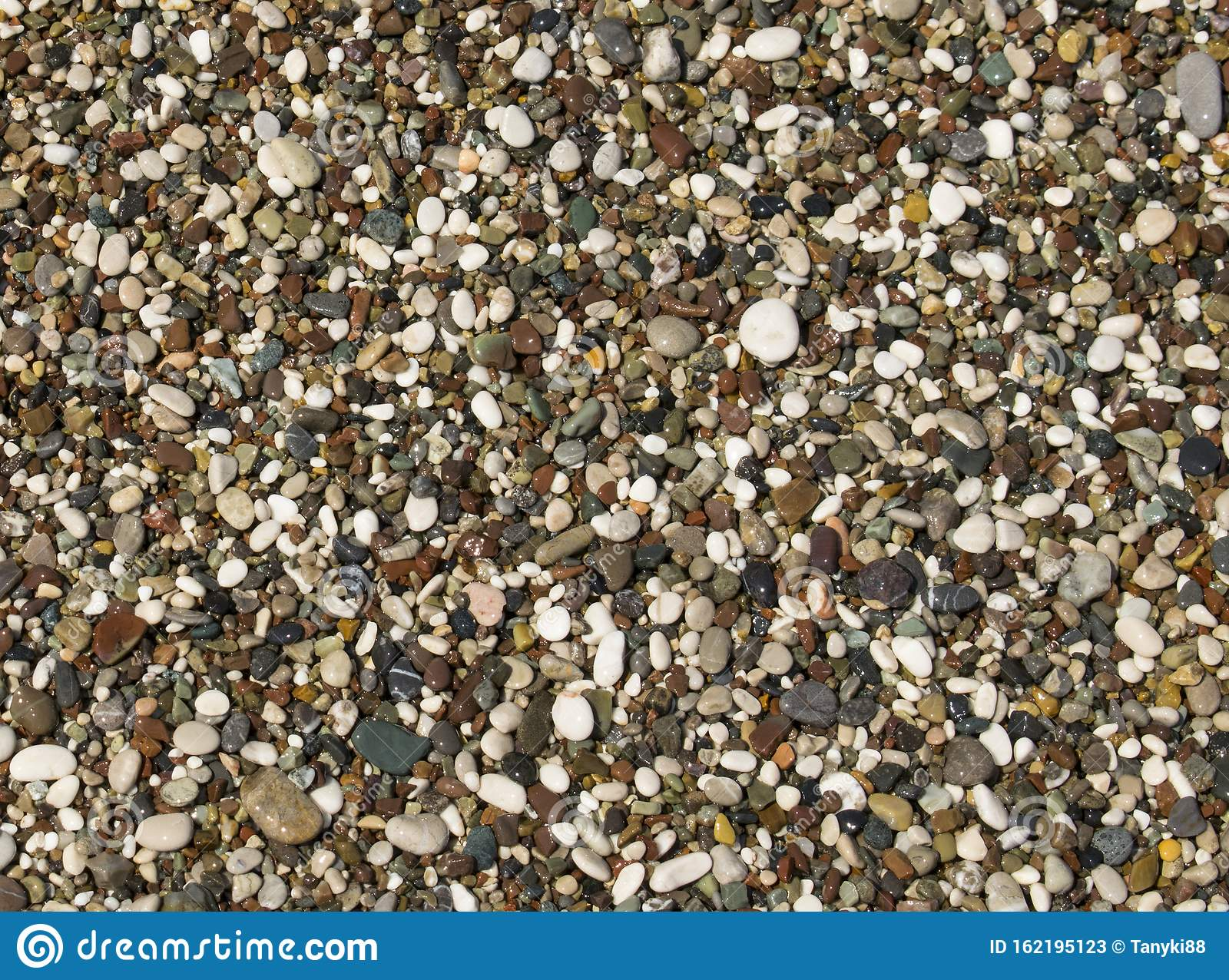 Abstract Smooth Round Pebbles Texture Background For ...