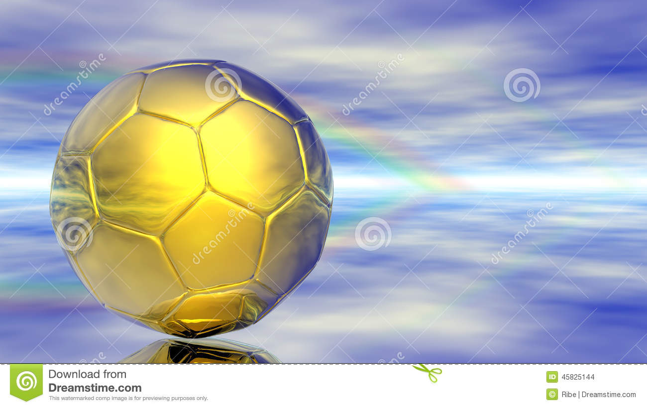 Background Abstract Volleyball Blue Yellow Ball Frame: Abstract Soccer Ball With Ukrainian National Flag Colors