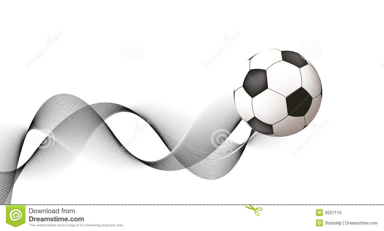Abstract Soccer Design...