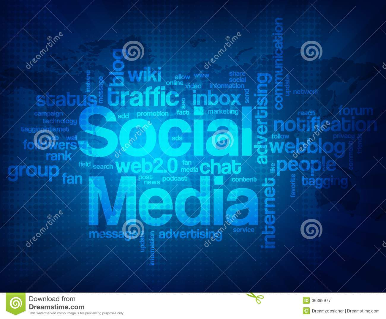 abstract social media background illustration 36399977 megapixl
