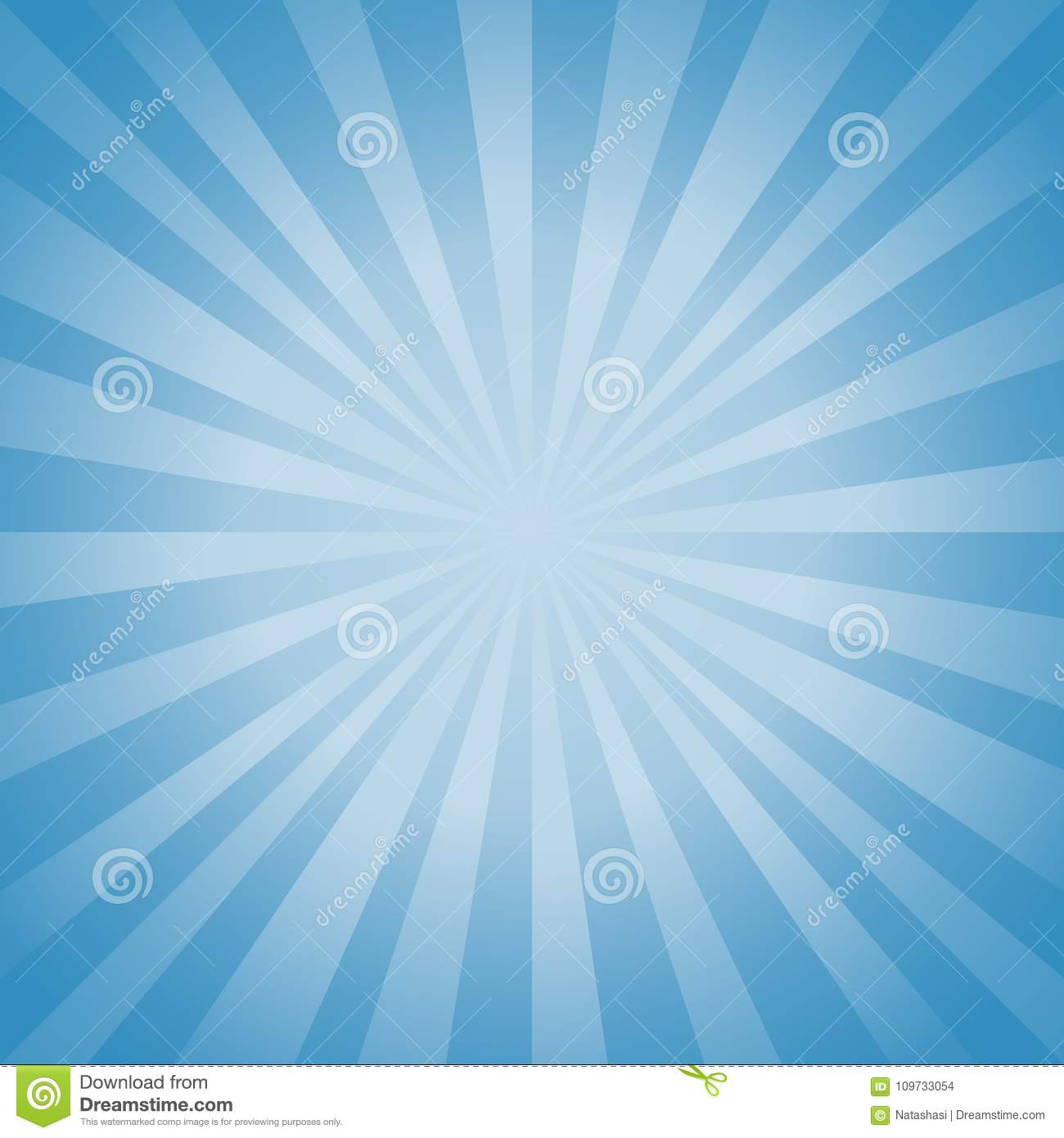 Abstract soft Blue rays background. Vector EPS 10, cmyk