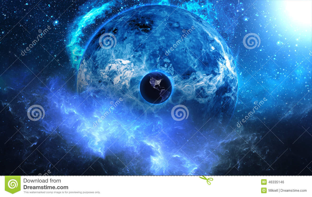Abstract space illustration stock photo image 46335146 for 3d outer space map
