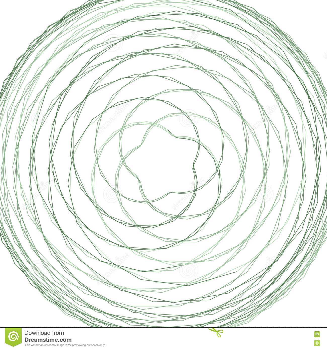 Abstract Spirograph Element Stock Vector Illustration Of Magic