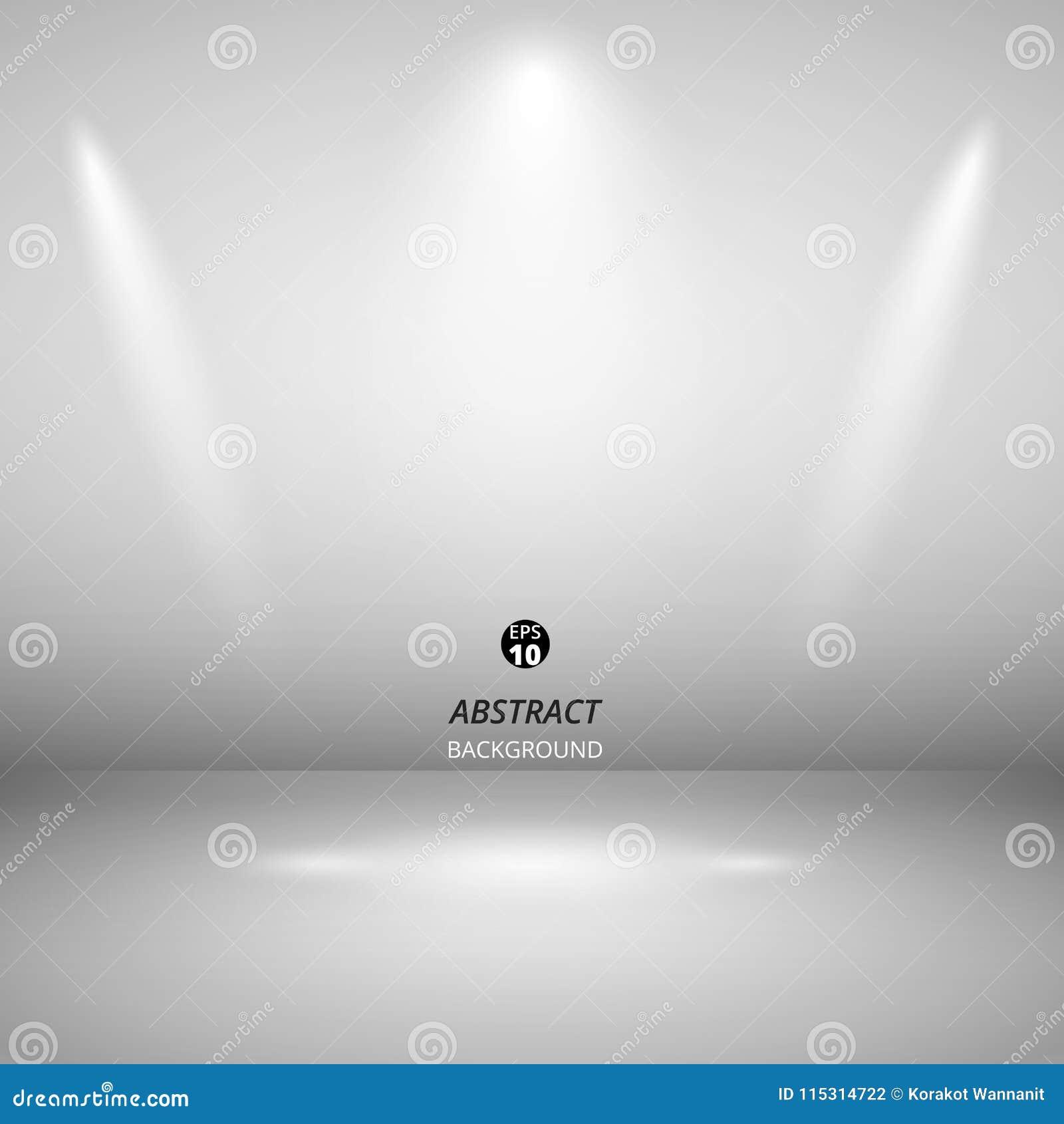 Abstract of spotlight presentation on black background.